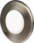 Greenlux LED15 VEGA-R Round Matt Chrome 3W WW GXDW209