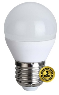 LED žárovka Solight miniglobe E27 6W  WZ412